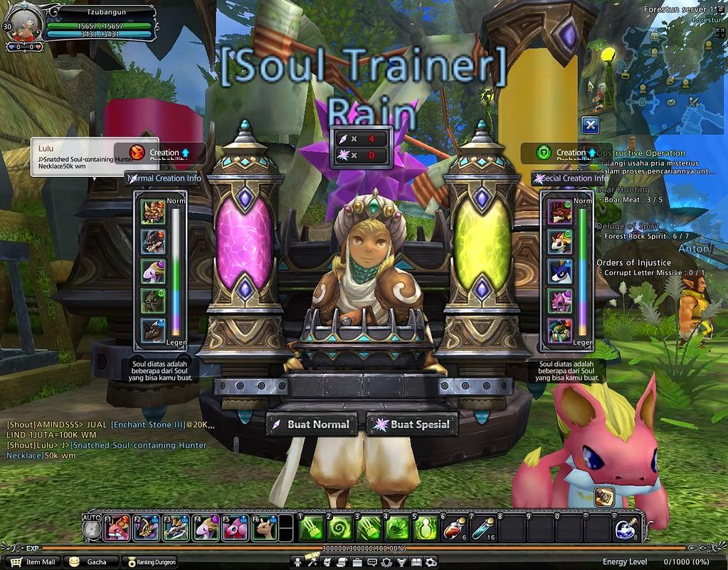 Soul trainer royal master