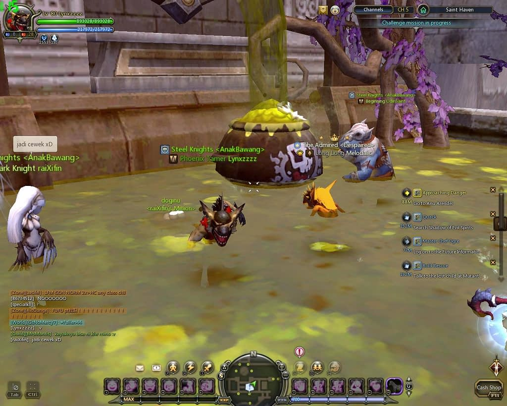 Dragon nest indonesia polluted water 1