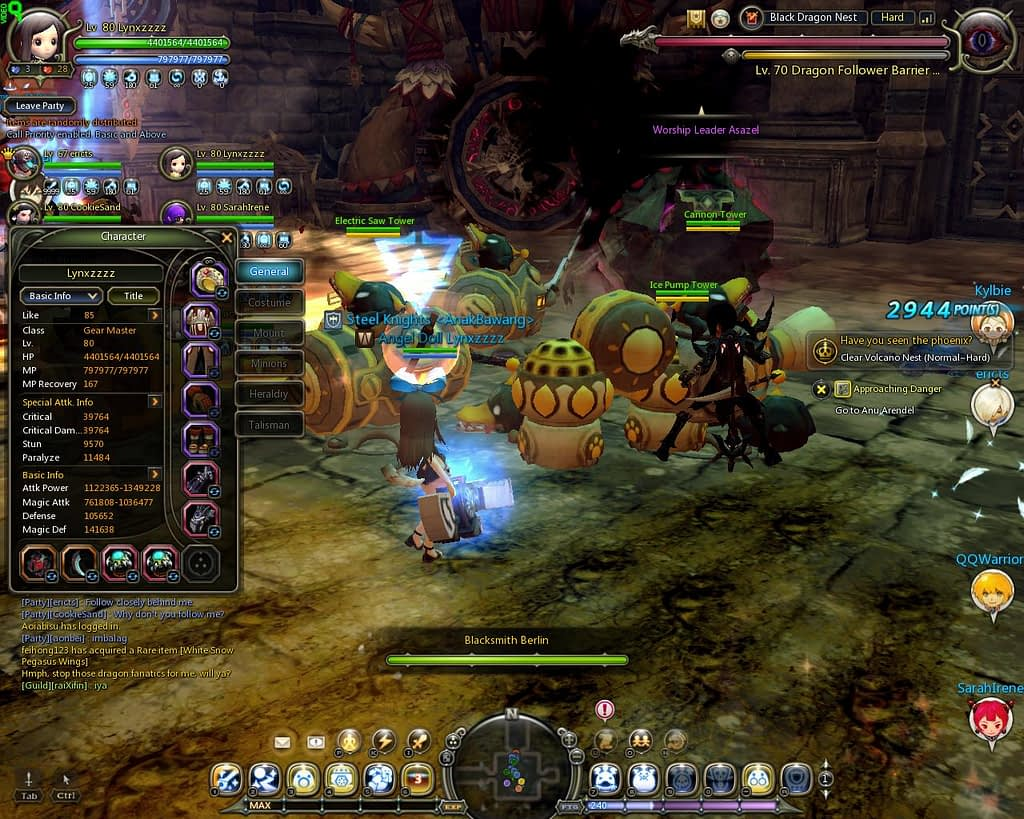 dragon nest indonesia dragon hunting event