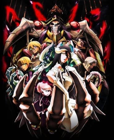 Anime Bergenre Game MMORPG overlord