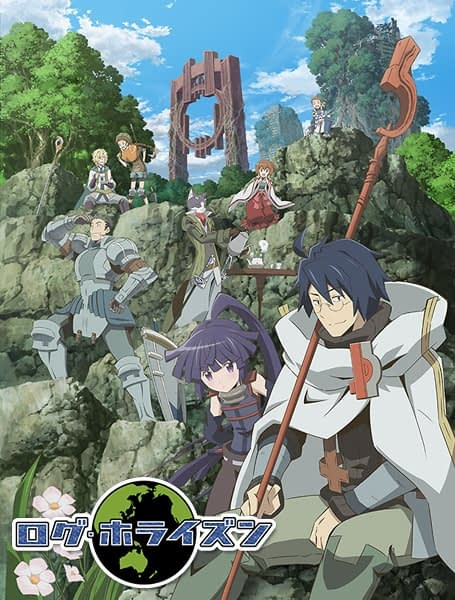 Anime Bergenre Game MMORPG log horizon