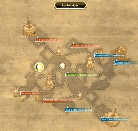 dragon nest rumble mode map