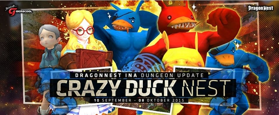Dragon nest indonesia Crazy duck nest 1