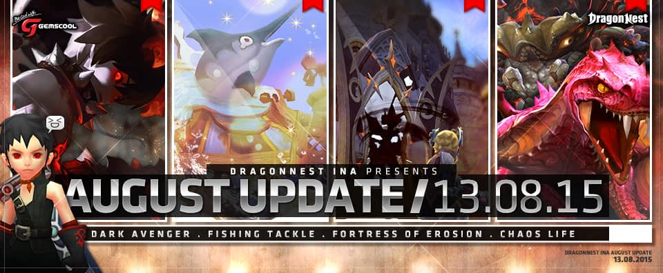 Dragon nest update 13 agustus
